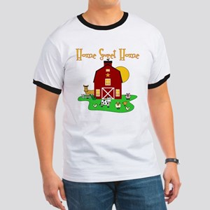 Scott Designs Farm Life Ringer T