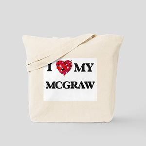 I Love MY Mcgraw Tote Bag