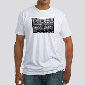 Drippy Patch Modular Synth Fitted T-Shirt