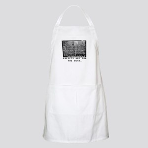 Drippy Patch Modular Synth (P BBQ Apron