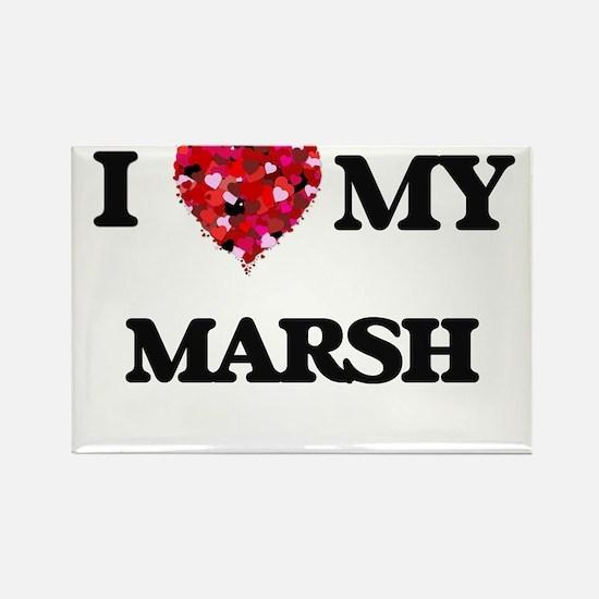 I Love MY Marsh Magnets