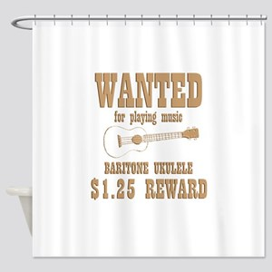 Baritone Ukulele Shower Curtain