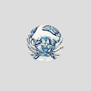 coastal nautical beach crab Mini Button