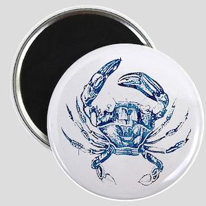 coastal nautical beach crab Magnet