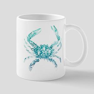 coastal nautical beach crab Mug