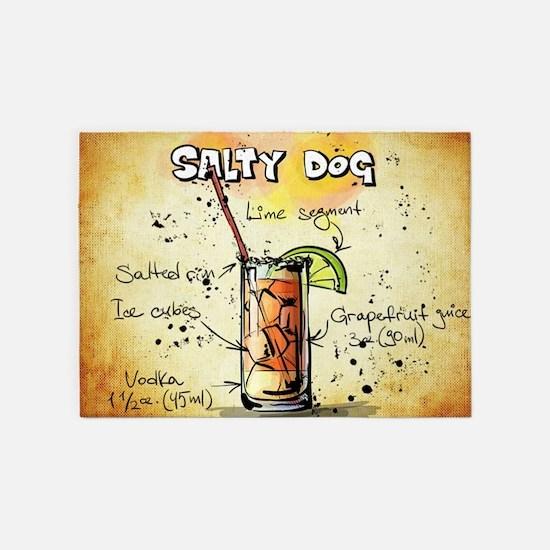 Salty Dog 5'x7'Area Rug