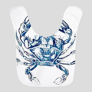 coastal nautical beach crab Bib