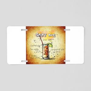 Salty Dog Aluminum License Plate