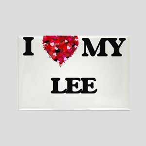 I Love MY Lee Magnets