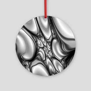 Melting Point Round Ornament
