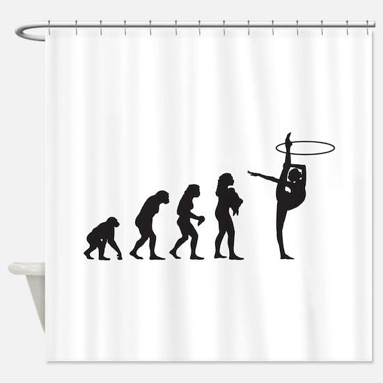 Rhythmic Gymnastic Shower Curtain