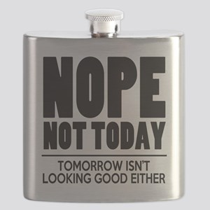 Nope Not Today Flask