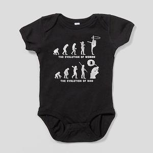 Rhythmic Gymnastic Baby Bodysuit