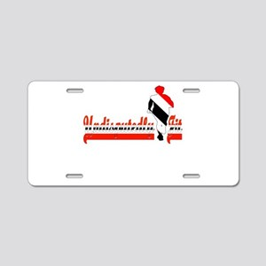Undisputedly Fit Trinidadia Aluminum License Plate