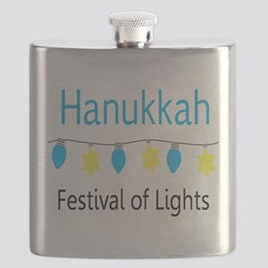 Hanukkah Festival of Lights Flask