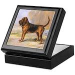 Vintage Bloodhound Keepsake Box
