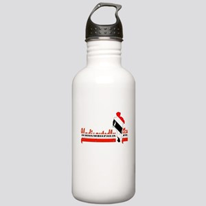Undisputedly Fit Trini Stainless Water Bottle 1.0L