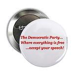 "Dem Party Freebies Pk) 2.25"" Button (10 Pack)"
