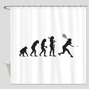 Racquetball Shower Curtain