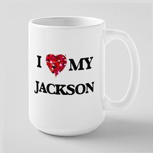 I Love MY Jackson Mugs
