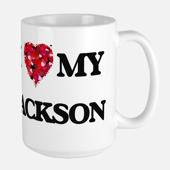 I Love MY Jackson Mugs