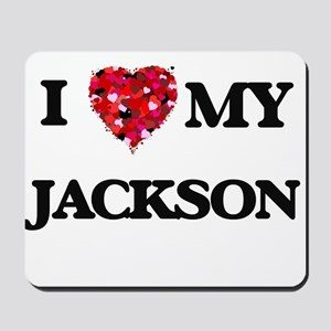 I Love MY Jackson Mousepad