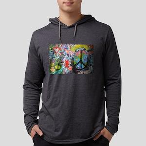 Love & Peace on the Lennon Long Sleeve T-Shirt