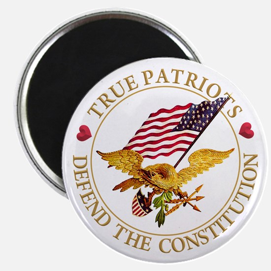 "True Patriots Defend the Co 2.25"" Magnet (10 pack)"