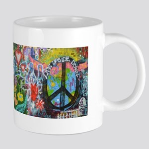 Love & Peace on the Lennon Wall Mugs
