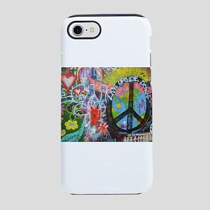 Love & Peace on the Lenn iPhone 8/7 Tough Case