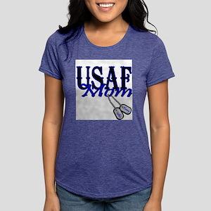 Air Force Mom Dog Tag T-Shirt