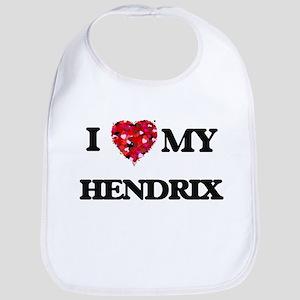 I Love MY Hendrix Bib