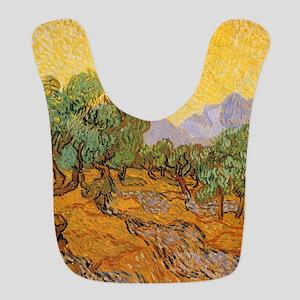 Van Gogh Olive Trees Yellow Sky Sun Bib