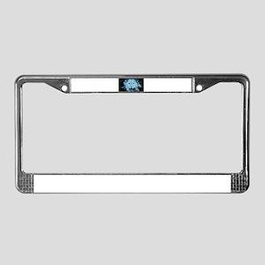 Electric Tiger License Plate Frame