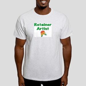Retainer Artist Rainbow Green Light T-Shirt