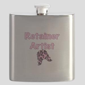 Retainer Artist Pink Flask