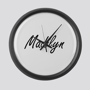 Madilyn artistic Name Design Large Wall Clock
