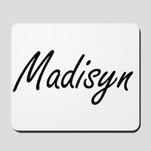 Madisyn artistic Name Design Mousepad