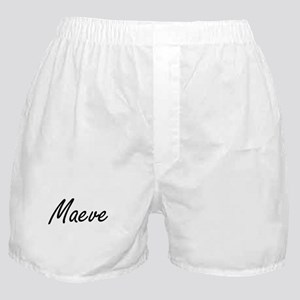 Maeve artistic Name Design Boxer Shorts