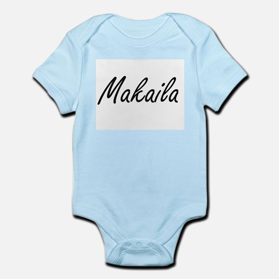Makaila artistic Name Design Body Suit