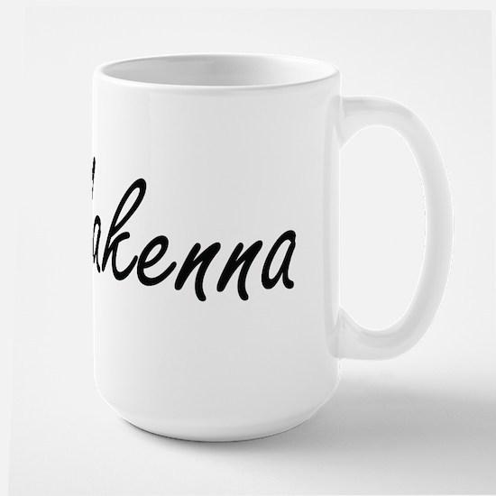 Makenna artistic Name Design Mugs