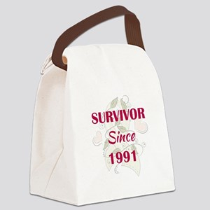 SINCE 1991 Canvas Lunch Bag