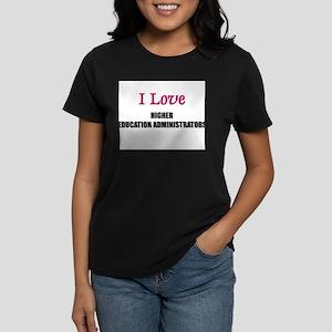 I Love My ACADEMIC LIBRARIAN Women's Dark T-Shirt