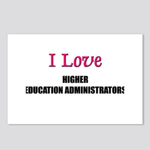 I Love My ACADEMIC LIBRARIAN Postcards (Package of