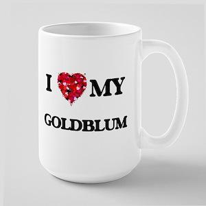 I Love MY Goldblum Mugs