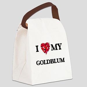 I Love MY Goldblum Canvas Lunch Bag