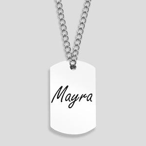 Mayra artistic Name Design Dog Tags