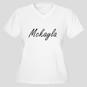 Mckayla artistic Name Design Plus Size T-Shirt
