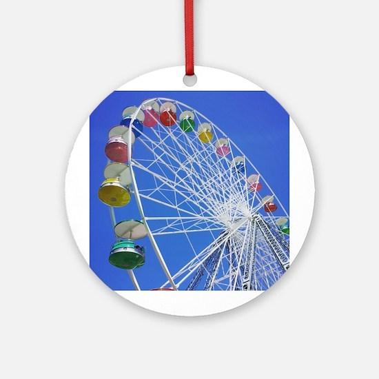 Knoebels Big Wheel Ornament (Round)