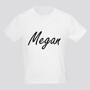 Megan artistic Name Design T-Shirt